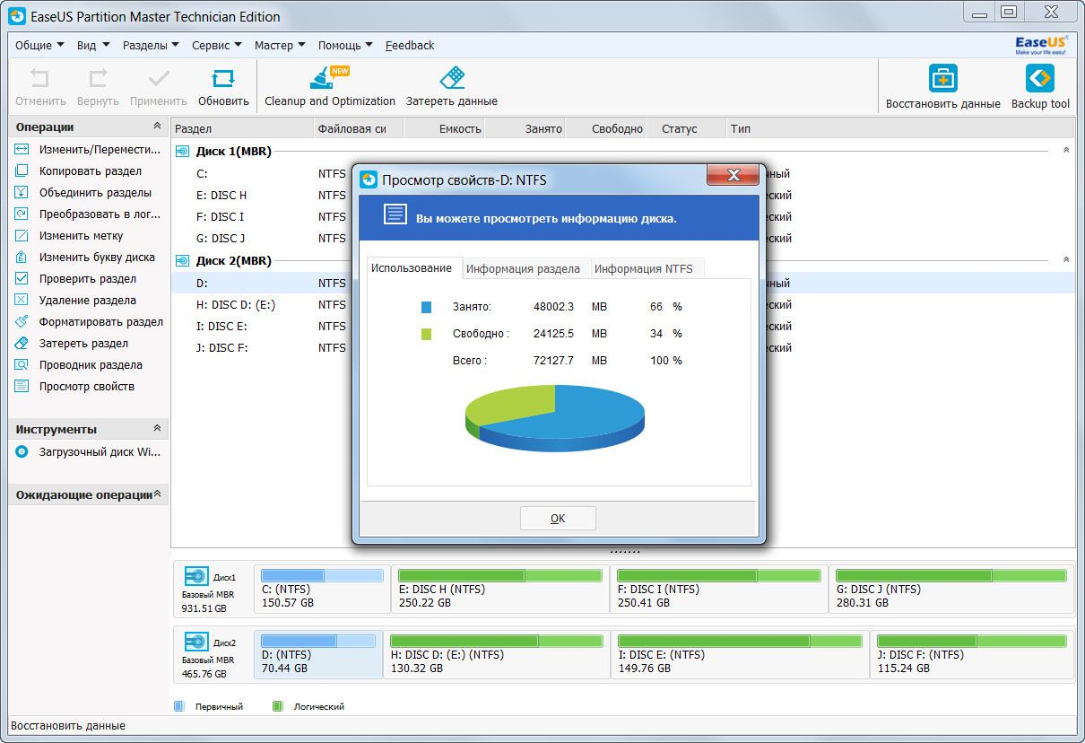 Как проверить жесткий диск на ошибки в Windows