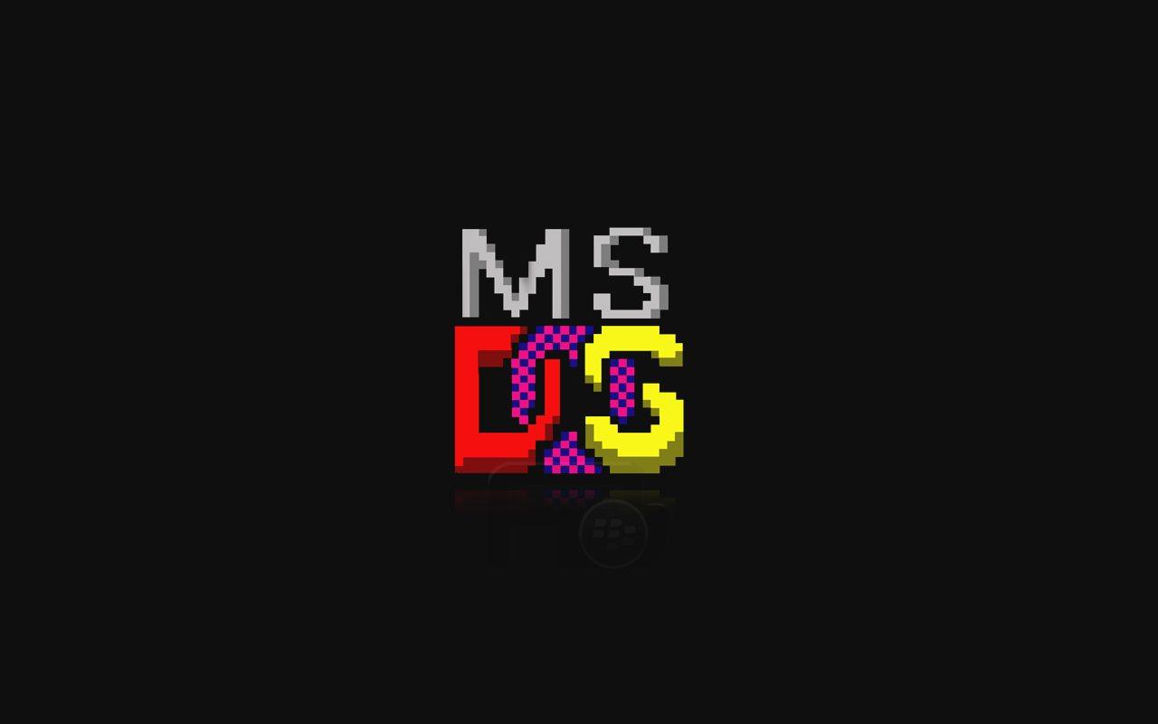 Операционная система ms dos